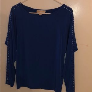 Michael kors long sleeve blouse XS